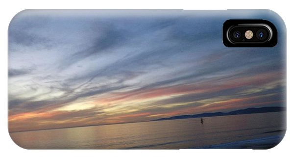 Sundown At Redondo IPhone Case