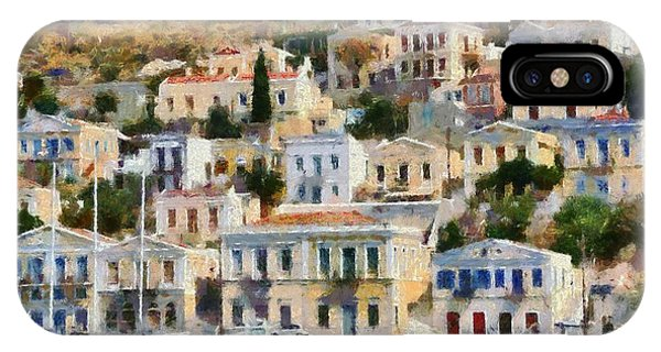 Symi Island IPhone Case