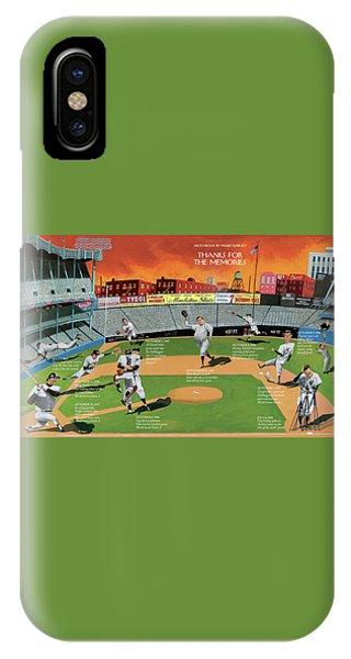 Yankee Stadium iPhone Case - New Yorker September 22nd, 2008 by Mark Ulriksen