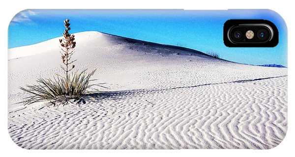Usa, New Mexico, White Sands National Phone Case by Terry Eggers
