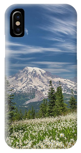Alpine Meadows iPhone Case - Usa, Washington, Mount Rainier National by Jaynes Gallery