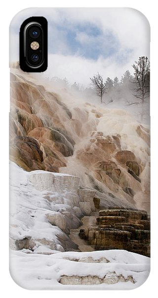 Usa, Wyoming, Yellowstone National Park IPhone Case