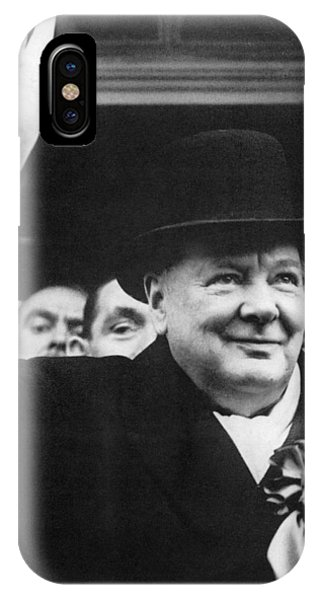 Winston Churchill Phone Case by Granger