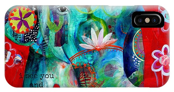 Animals iPhone Case - I See You  by Tracy Verdugo