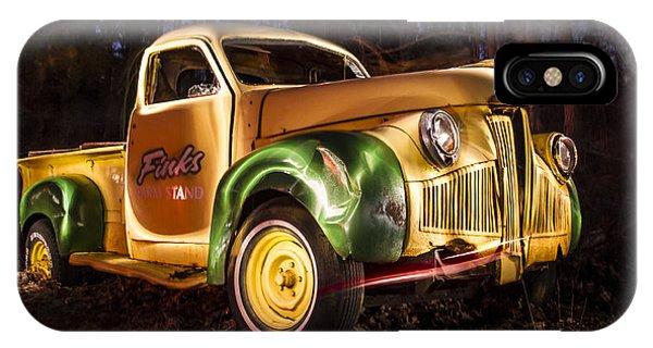 7136 Old Truck Lightpainting Phone Case by Deidre Elzer-Lento