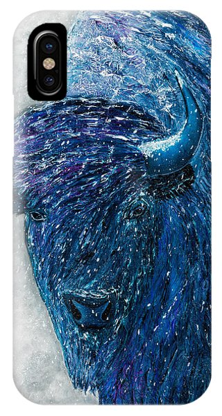 Buffalo  - Ready For Winter IPhone Case