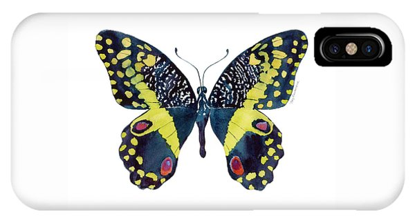 73 Citrus Butterfly IPhone Case