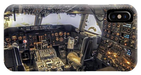 747 Cockpit IPhone Case
