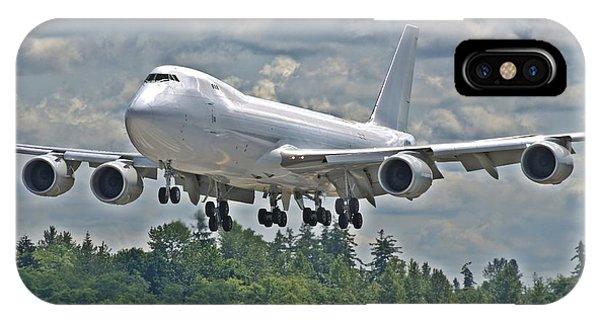 747 Landing IPhone Case
