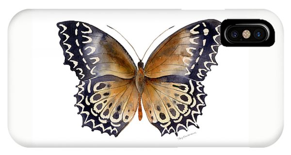 77 Cethosia Butterfly IPhone Case