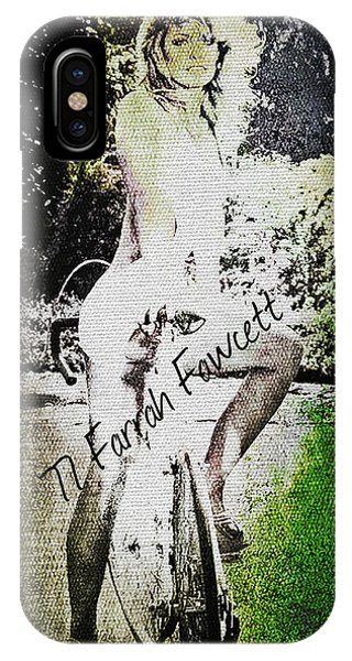 '77 Farrah Fawcett IPhone Case