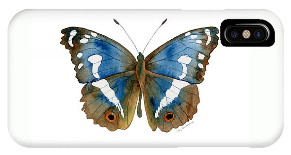 78 Apatura Iris Butterfly IPhone Case