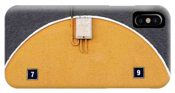 Cement iPhone Case - 79 by Hans-wolfgang Hawerkamp