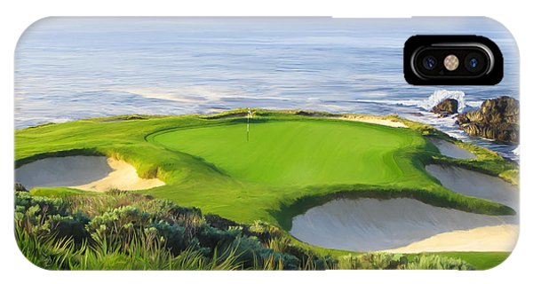 7th Hole At Pebble Beach IPhone Case