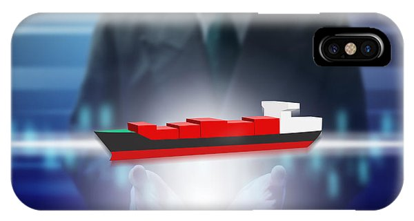Business Abstract IPhone Case