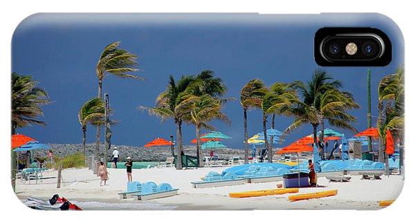 Jet Ski iPhone X Case - Caribbean, Bahamas, Castaway Cay by Kymri Wilt