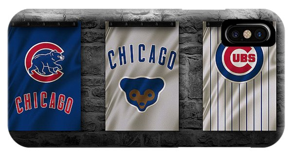Chicago iPhone Case - Chicago Cubs by Joe Hamilton