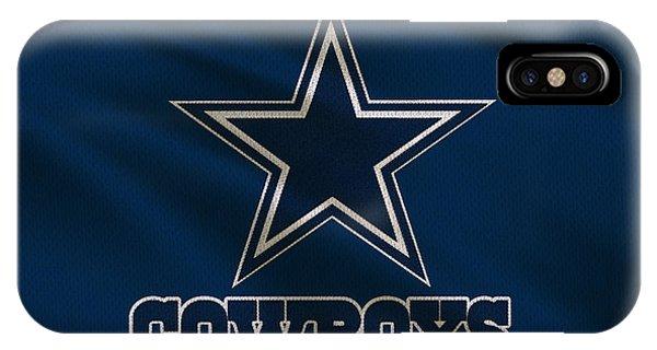 Texas iPhone Case - Dallas Cowboys Uniform by Joe Hamilton