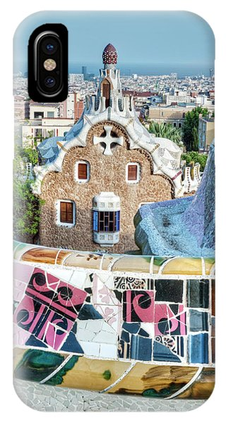 Gaudi iPhone Case - Europe, Spain, Catalonia, Barcelona by Rob Tilley