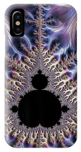 Fractal iPhone X Case - Mandelbrot Fractal by Alfred Pasieka
