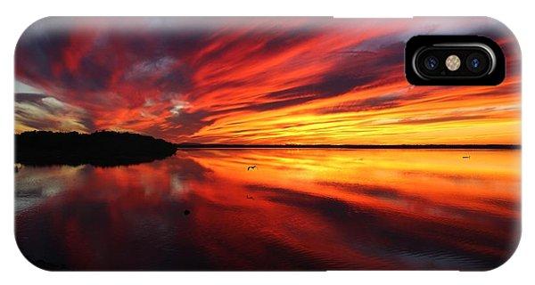 Missisquoi Sunset IPhone Case