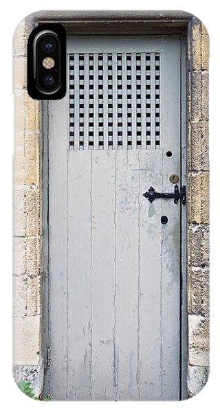 Dungeon iPhone Case - Old Door by Tom Gowanlock