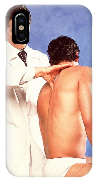 Well Being iPhone Case - Osteopathy by Mauro Fermariello/science Photo Library