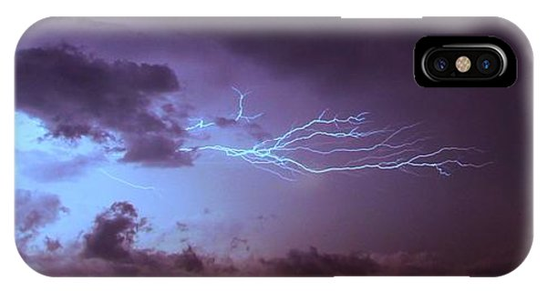 IPhone Case featuring the photograph Our 1st Severe Thunderstorms In South Central Nebraska by NebraskaSC