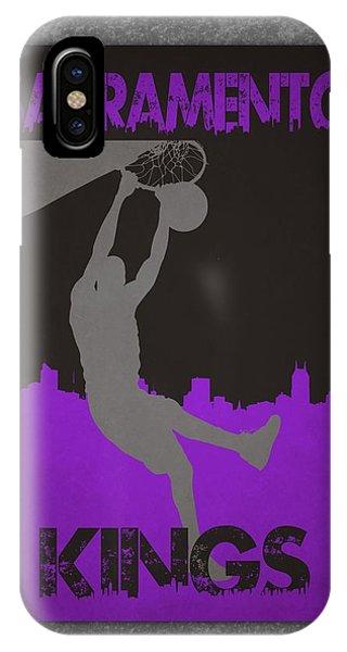 Sacramento iPhone X Case - Sacramento Kings by Joe Hamilton