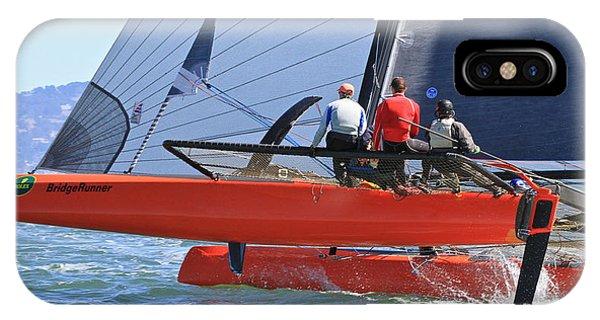 San Francisco Sailing IPhone Case