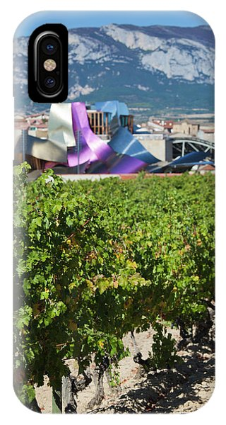Gehry iPhone Case - Spain, Basque Country Region, La Rioja by Walter Bibikow
