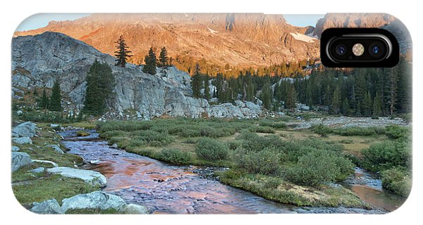 Alpine Meadows iPhone Case - Usa, California, Inyo National Forest by Jaynes Gallery