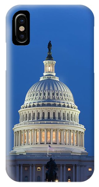 Capitol Building iPhone Case - Usa, Washington, D by Jaynes Gallery