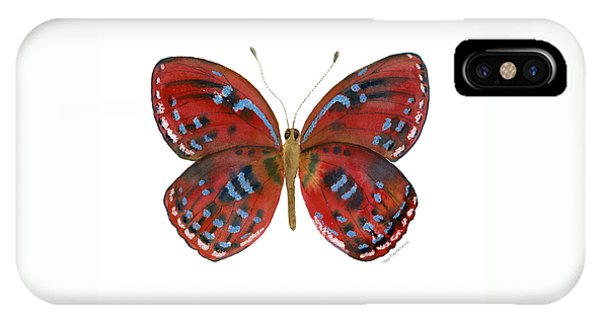 81 Paralaxita Butterfly IPhone Case