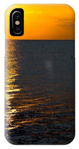 8.16.13 Sunrise Over Lake Michigan North Of Chicago 003 IPhone Case