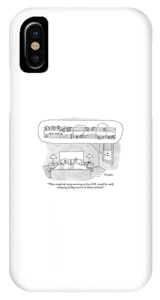 These Songbirds Every Morning At Five A.m IPhone Case