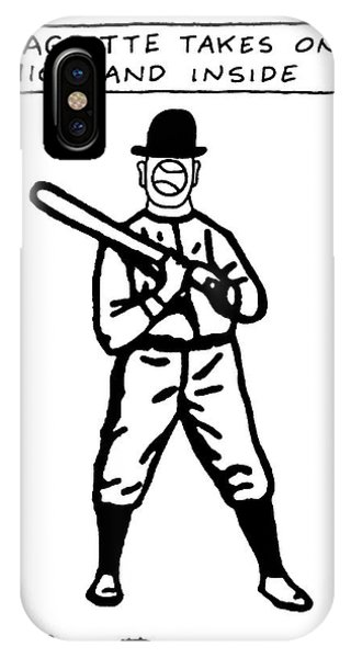 Magritte Takes One High IPhone Case