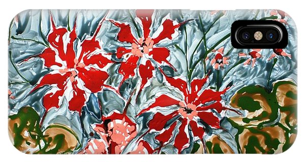 Mann Flowers Phone Case by Baljit Chadha