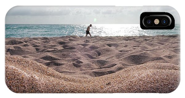 8660 Nude Beach In Plain Sight Fine Art Signed Chris Maher 1 To 3 Ratio IPhone Case