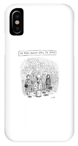 New Yorker May 21st, 2007 IPhone Case