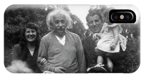Albert Einstein Phone Case by Emilio Segre Visual Archives/american Institute Of Physics