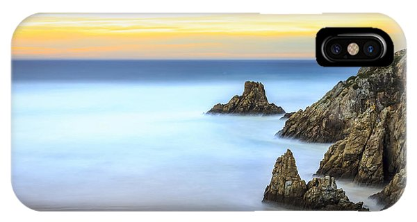 Campelo Beach Galicia Spain IPhone Case