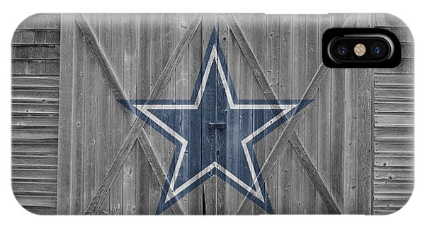 Barn iPhone Case - Dallas Cowboys by Joe Hamilton