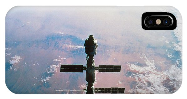 International Space Station iPhone Case - International Space Station by Nasa/science Photo Library