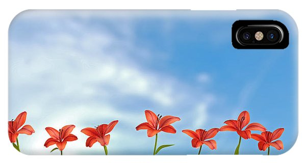 9 Lilies IPhone Case