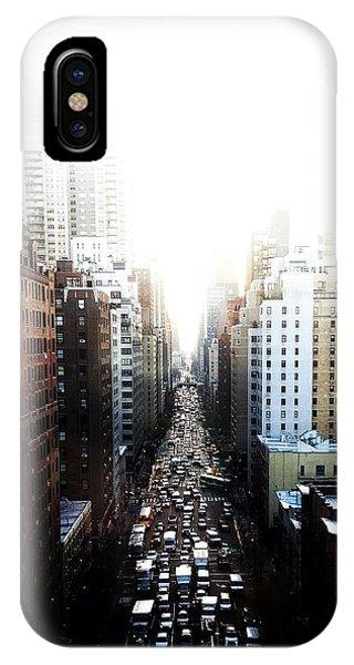 New York City iPhone Case - Manhattan by Natasha Marco