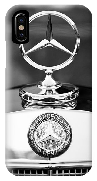 IPhone Case featuring the photograph Mercedes-benz Hood Ornament by Jill Reger
