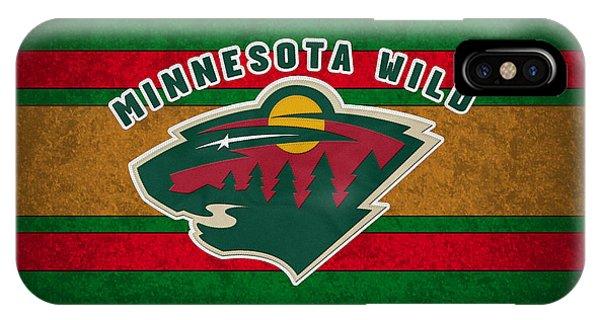 Puck iPhone Case - Minnesota Wild by Joe Hamilton