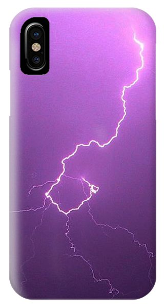 Our 1st Severe Thunderstorms In South Central Nebraska IPhone Case