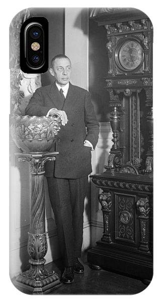 Sergei Rachmaninoff (1873-1943) Phone Case by Granger
